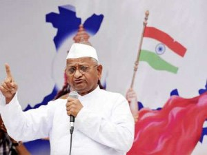 In support of Anna Hazare