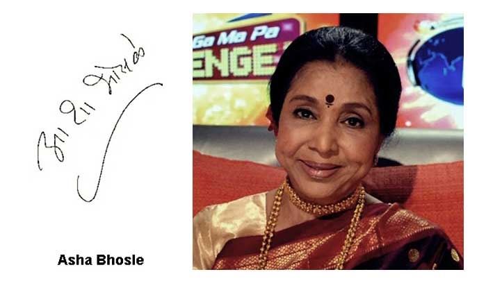 Autograph of Indian Legends