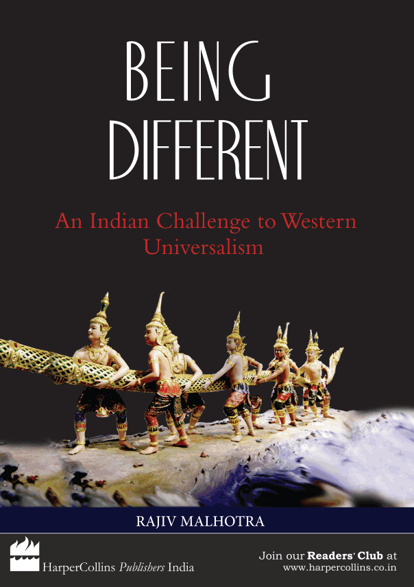 Being Different book author Rajiv Malhotra