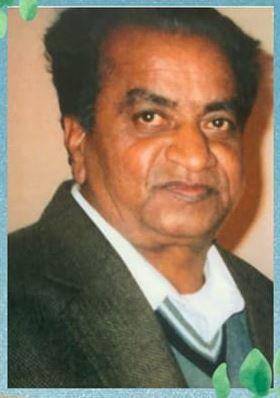 Sad Demise of Chandubhai Harmanbhai Patel