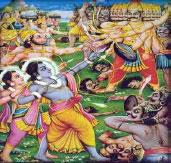 Dussehra - Victory of Ramachandra over Ravana