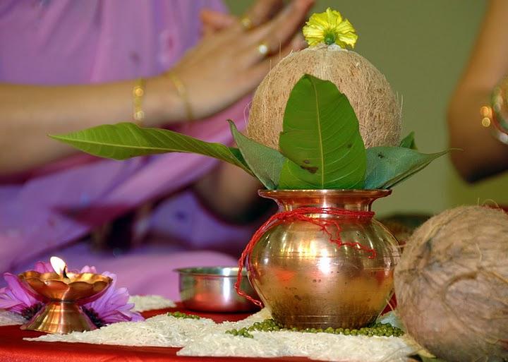 Hindu Baby Shower, Shrimant, Khoro Bhavo  Ceremony