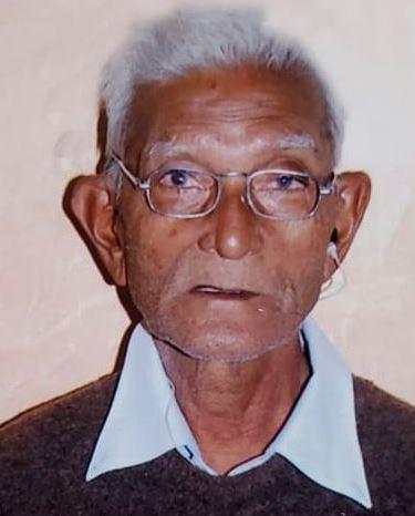 Sad demise Of Ishwarbhai Lallubhai Patel - Bhavanipura