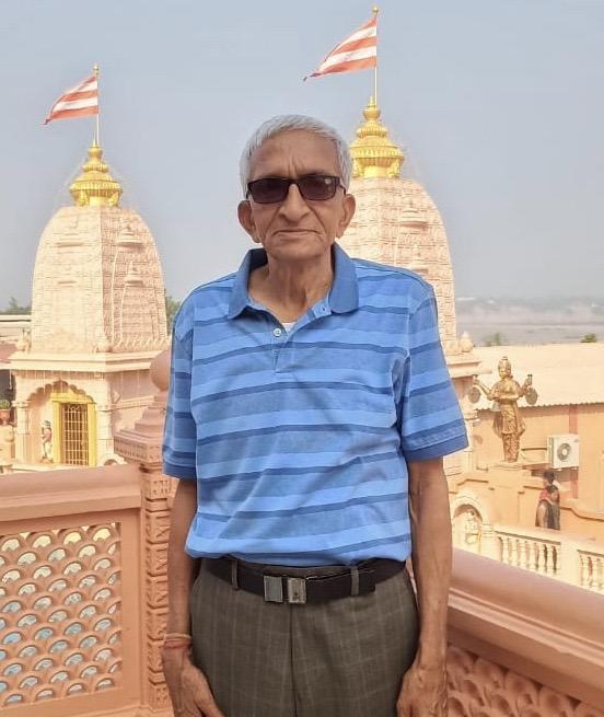 Sad Demise of Kantibhai Bhailalbhai Patel of Vishrampura