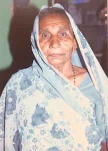 Sad Demise of Kashiben(Surajben) Dhoribhai Patel Of Shahpur