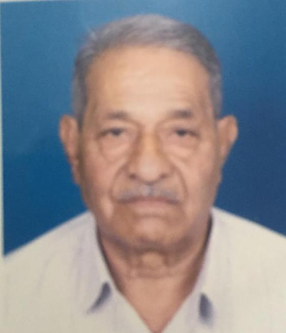 Sad Demise of Punambhai Chhaganbhai Patel of Rangaipura