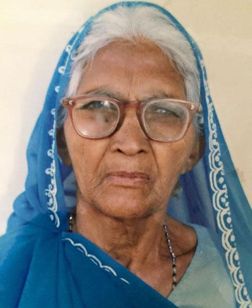 Sad Demise of Revaben Mahijibhai Patel at Shahpur