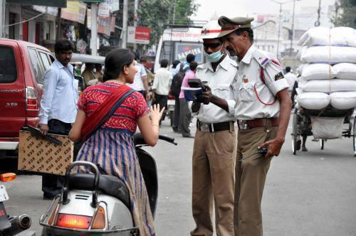 Traffice Police Memo/Challan or Ticket