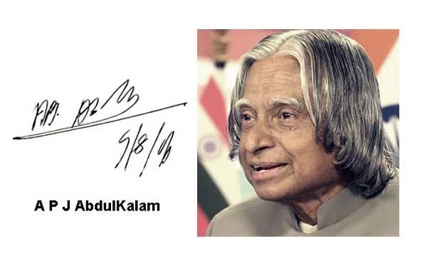 Autograph of Indian Legends