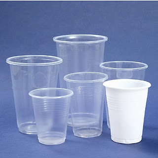 Beware of paper plastic cups