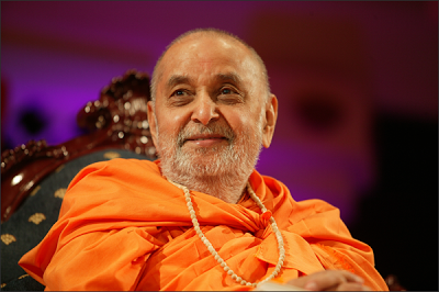 Pramukh Swami Departure for Akshar Dhaam