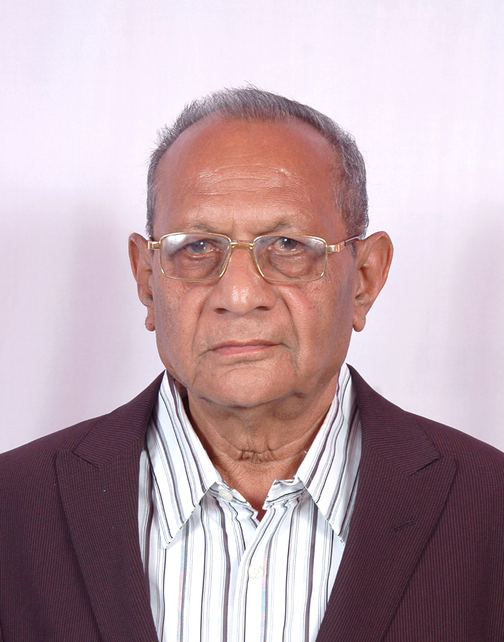 Sad Demise of Shri Jashbhai Patel