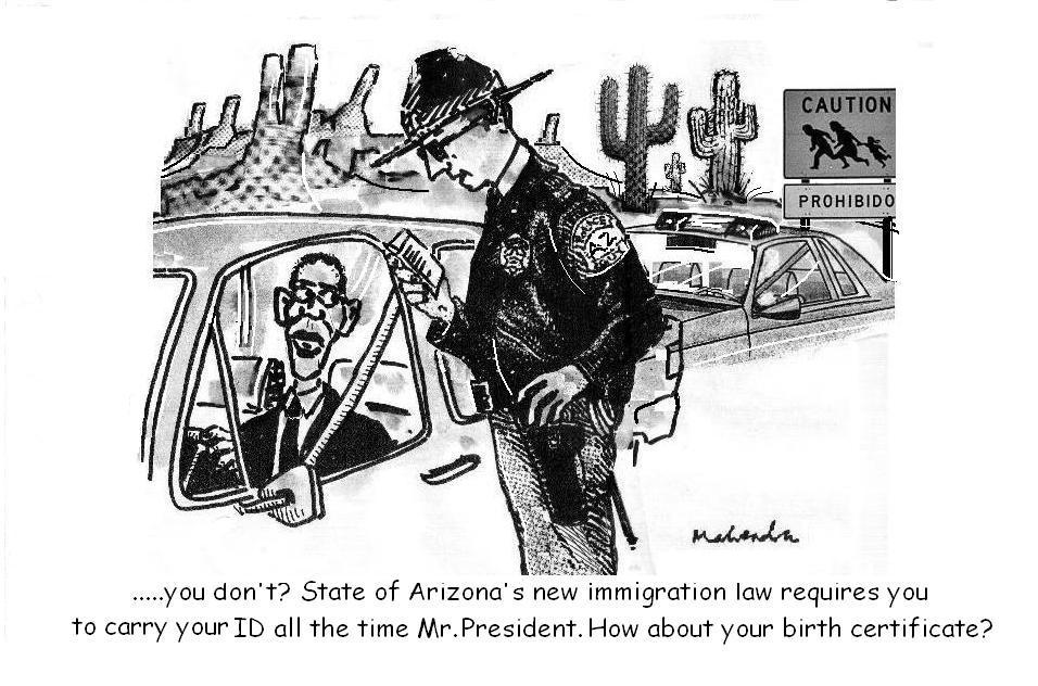 ArizonaS New Immigration Law