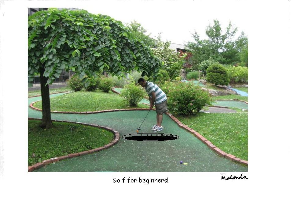Golf For Beginners!