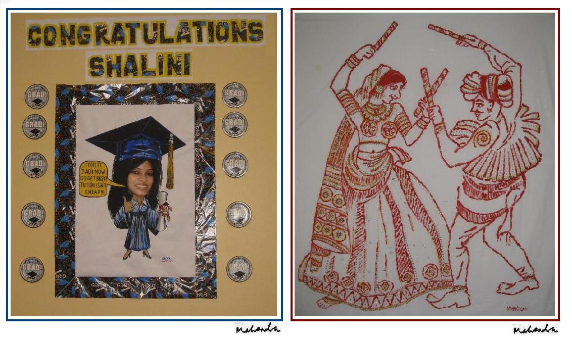 Cartoon of the Week: Graduation Party Wall Decoration.