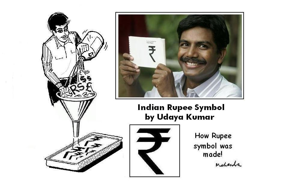 How Rupee Symbol Was Made!