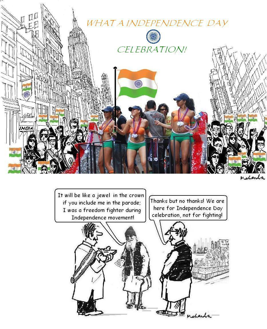 Independence Day Cartoons