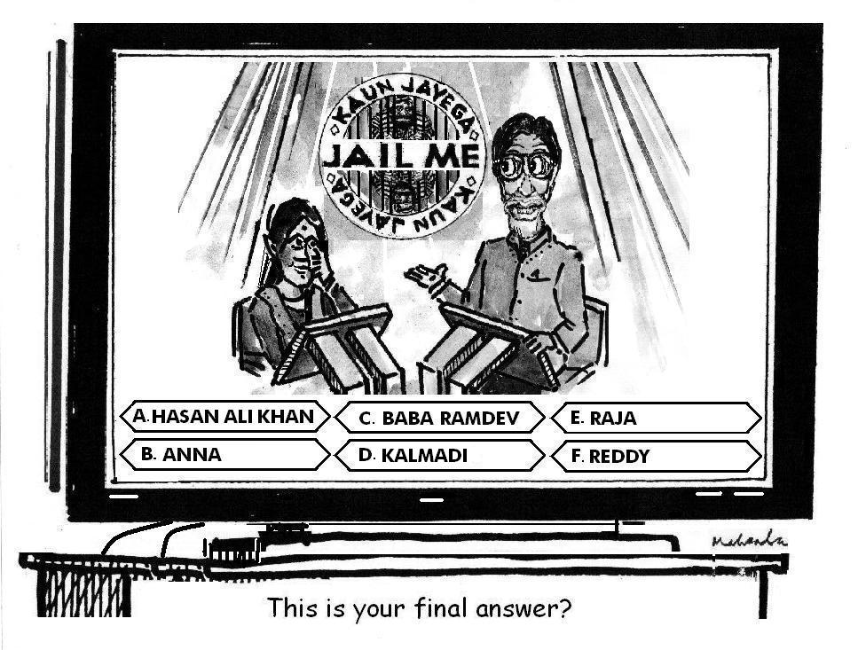 Cartoon of the Week: Kaun Jayega Jail Me 1