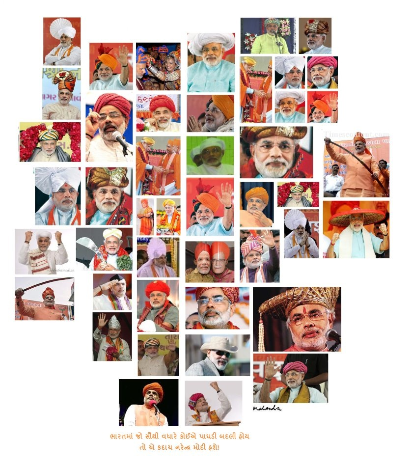Narendra Modi And Turban