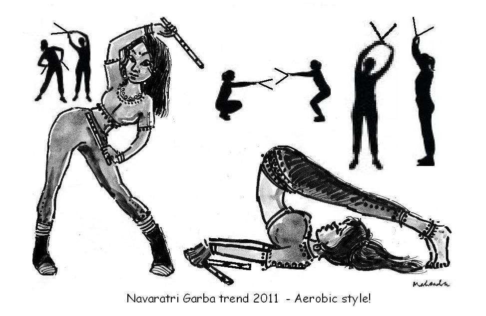 Navratri Garba Trend 2011