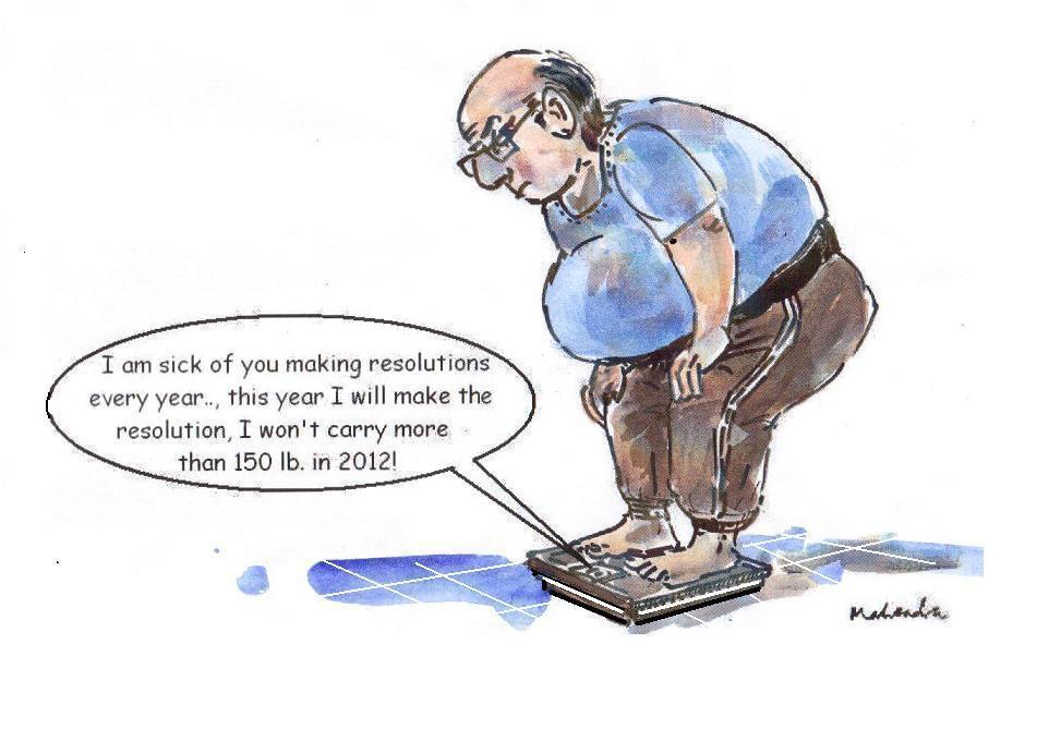 Pics Photos - Funny Picture Cartoon New Years Resolution Random Comic ...