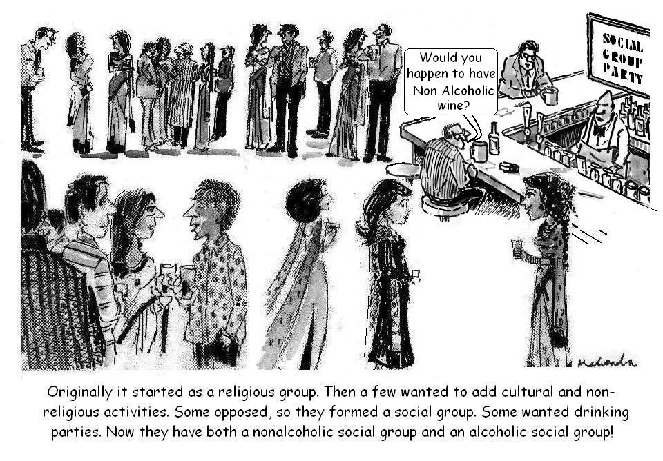 Cartoon of the Week: Social Group Party