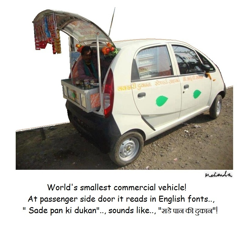 WorldS Smallest Commercial Vehicle!