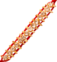 Single Piece Red Rakhi Thread