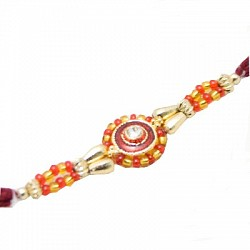Traditional Handcrafted Beads Rakhi