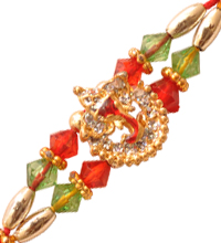 Rakhi Thread with Lord Ganesha Motif